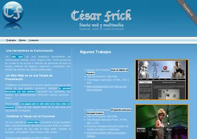 cesarfrick.com version 1